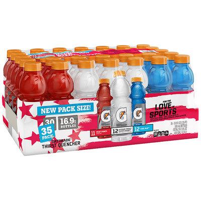 Gatorade® Thirst Quencher Variety Pack 35-16.9 fl. oz. Plastic Bottles