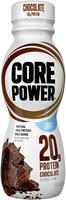 Core Power™ Natural High Protein Milk Shake Chocolate Light 11.5 fl. oz. Plastic Bottle