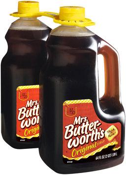 Mrs. Butterworth's® Original Syrup 2-64 fl. oz. Jugs