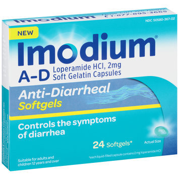Imodium® Anti-Diarrheal Softgels 24 ct Box