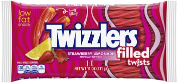 Twizzlers Strawberry Lemonade Flavored Filled Twists Candy 11 oz. Pack