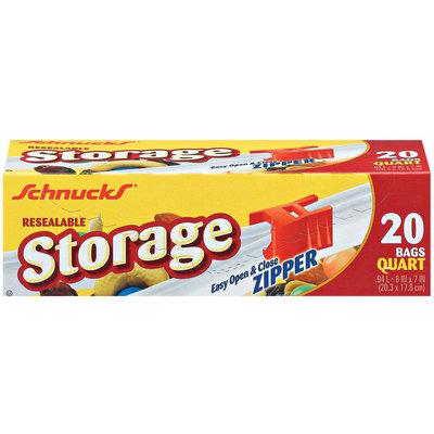 Schnucks Resealable Storage Bags