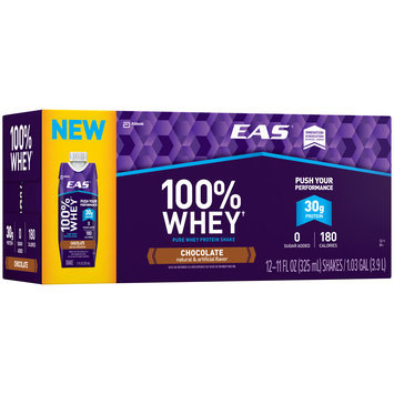 EAS® 100% Whey Chocolate Protein Shake 12-11 fl. oz. Aseptic Packs