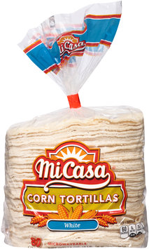 Mi Casa® White Corn Tortillas 76 oz. Bag