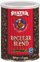 Stater Bros. Regular Blend Coffee 13 Oz Canister