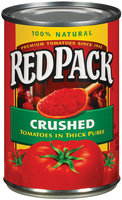 RedPack Crushed In Thick Puree Tomatoes 15 Oz Can