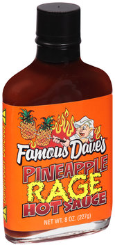 Famous Dave's® Pineapple Rage Hot Sauce 8 fl. oz. Glass Bottle