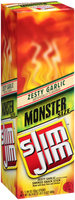 Slim Jim Monster Zesty Garlic sticks