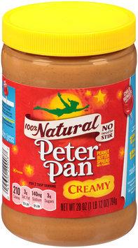 Peter Pan® 100% Natural Creamy Peanut Butter Spread
