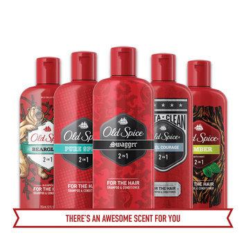Old Spice Desperado 2in1 Men's Shampoo and Conditioner, 25.3 oz.