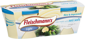 Fleischmann's Light 31% 16 Oz Tubs Vegetable Oil Spread 2 Ct Sleeve