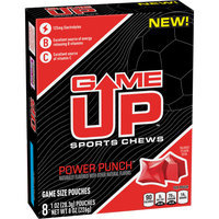 Game Up™ Power Punch™ Sports Chews 8-1 oz. Pouches