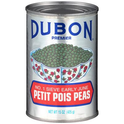 Dubon® Premier Petit Pois Peas 15 oz. Can