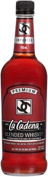 La Cadena® Blended Whiskey 750mL Bottle