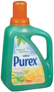 Purex Liquid Detergents Ultra Concentrate Natural Elements Citrus & Aloe Liquid Laundry Detergent 50 Oz Jug
