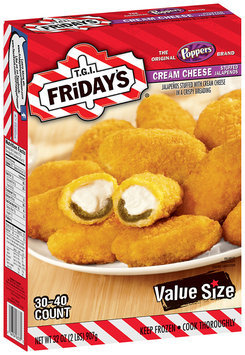 T.G.I. Friday's® Cream Cheese Stuffed Jalapenos 32 oz. Box