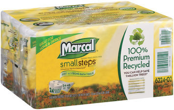Small Steps® Home & Office 2-Ply Double Rolls Bathroom Tissue 24 Ct Package