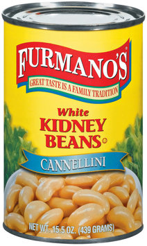 Furmano's White Kidney Beans 15.5 Oz Can