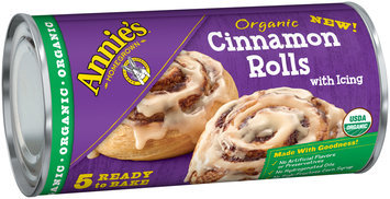 Annie's™ Organic Cinnamon Rolls with Icing 5 ct Can