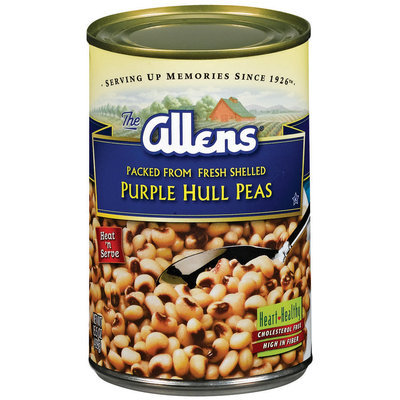 The Allens Purple Hull Peas 15.5 Oz Can