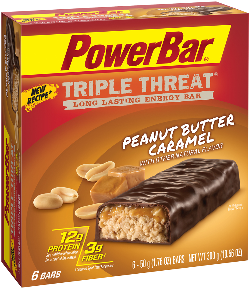 PowerBar® Triple Threat® Peanut Butter Caramel Energy Bar