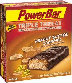 PowerBar Triple Threat Energy Bar Peanut Butter Caramel