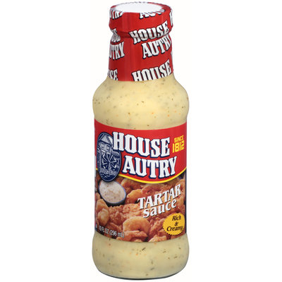 House Autry® Tartar Sauce 10 fl. oz. Glass Bottle