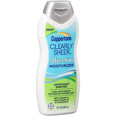 Coppertone® Clearly Sheer® AfterSun Moisturizer 9 fl. oz. Bottle