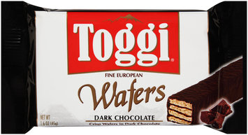 Toggi® Fine European Dark Chocolate Wafers