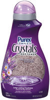Purex Fabric Softeners Complete Crystals Lavender Blossom 62 Loads Fabric Softener 55 Oz Plastic Bottle