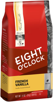 Eight O'Clock® French Vanilla Whole Bean Coffee 11 oz. Bag