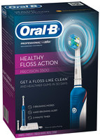 Oral-B Professional™ Healthy Floss Action Precision 3500 Rechargeable Electric Toothbrush
