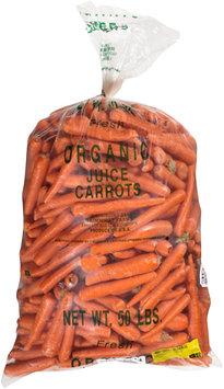 Cal-Organic Farms™ Juice Carrots 50 lb. Bag