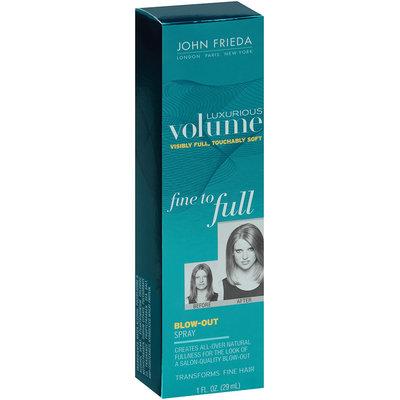 John Frieda Luxurious Volume Fine to Full Blowout Hairspray 1 fl. oz. Box