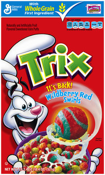 Trix® Wildberry Red Swirls Cereal