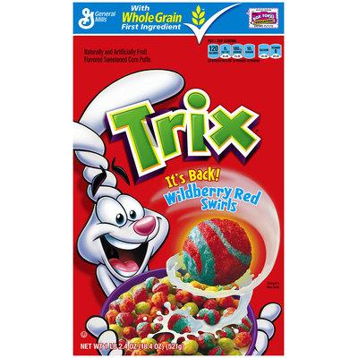 Trix® Wildberry Red Swirls Cereal 18.4 oz. Box