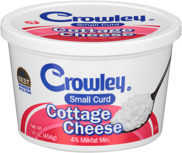 Crowley® Small Curd Cottage Cheese 16 oz. Tub