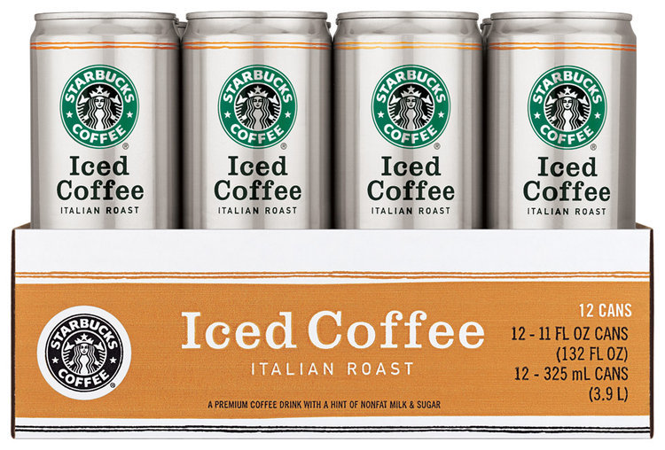 starbucks italian roast iced coffee 12 pack 11 fl