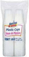 Special Value Plastic 7 Oz Cups 80 Ct Bag