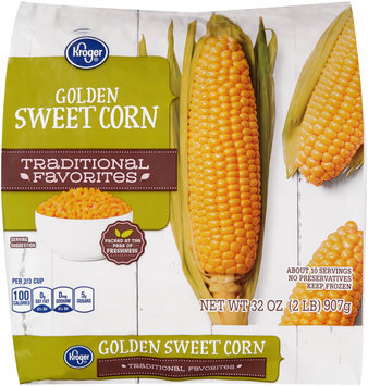 Kroger® Traditional Favorites Golden Sweet Corn 32 oz. Bag