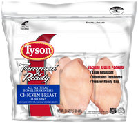 Tyson® Boneless Skinless Chicken Breast Portions 24 oz. Bag