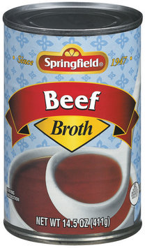 Springfield Beef  Broth 14.5 Oz Can