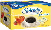 Splenda® Packets No Calorie Sweetener 1000 Ct Box