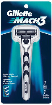 Gillette® Mach3® Manual Men's Razor