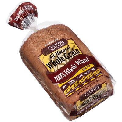 Country Kitchen® All Natural Whole Grain 100% Whole Grain Wheat Bread 24 oz. Bag