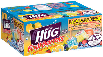 Little Hug® Fruit Barrels® Lemonade Stand Fruit Drinks 20-8 fl. oz. Box