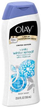Olay Ultra Moisture Vanilla Winter Retreat Moisturizing Body Wash