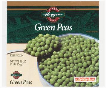 Haggen Green Peas 16 Oz Bag