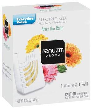 Renuzit After The Rain Warmer & Refill Electric Gel Air Freshener 1 Ct Box
