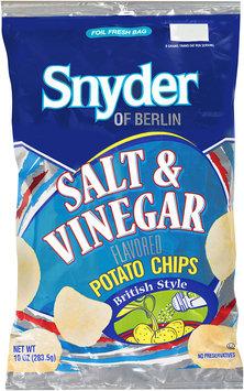 Snyder of Berlin® Salt & Vinegar Flavored Potato Chips 10 oz.